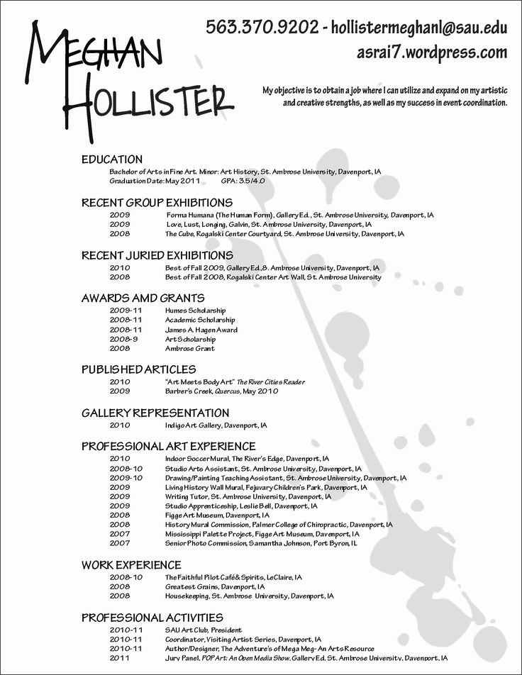 25 Makeup Artist Resume Sample in 2020 (With images