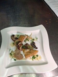 Crab & scallop terrine