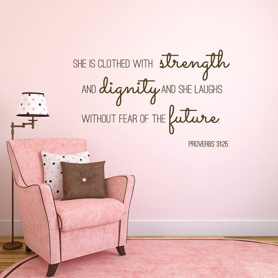 best 25 christian wall decals ideas on pinterest today 11470 | 94cae16e9973d1a6232145d27a11470d proverbs christian wall decor