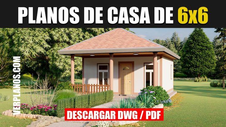 Planos de Casa ¡ECONÓMICA Gratis! #2 Habitaciones #1 Baño ...