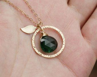 Collier de Karma collier de perle de pièce par tyrahandmadejewelry2