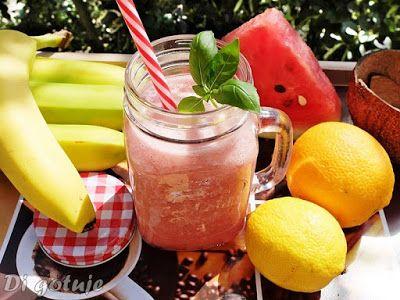 Di gotuje: Koktajl arbuzowo-bananowo-kokosowy z cytrusami (na...
