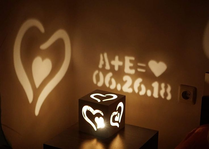 Customized Gift Magic Box Love Couple Anniversary Special Occasion Write your message with candle light girlfriend boyfriend romantic gift