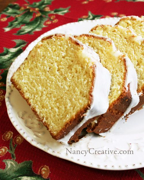 Egg Nog Bread with Creamy Egg Nog Glaze...a wonderful holiday treat!