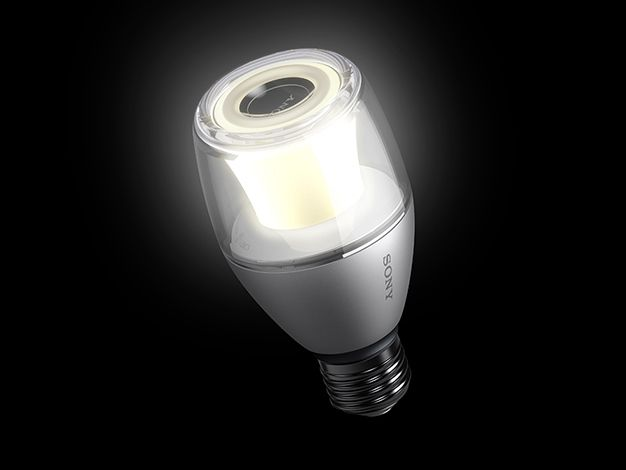 Sony LED Light Bulb Speaker - an LED light bulb that doubles as a Bluetooth speaker. Currently only available in Japan but that could change!