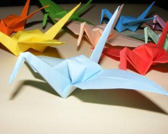 Set of 1000 Origami Paper Wedding Crane, Wedding Crane, Origami Crane, Handmade Crane, Wedding Decoration Origami Crane, Origami Wedding