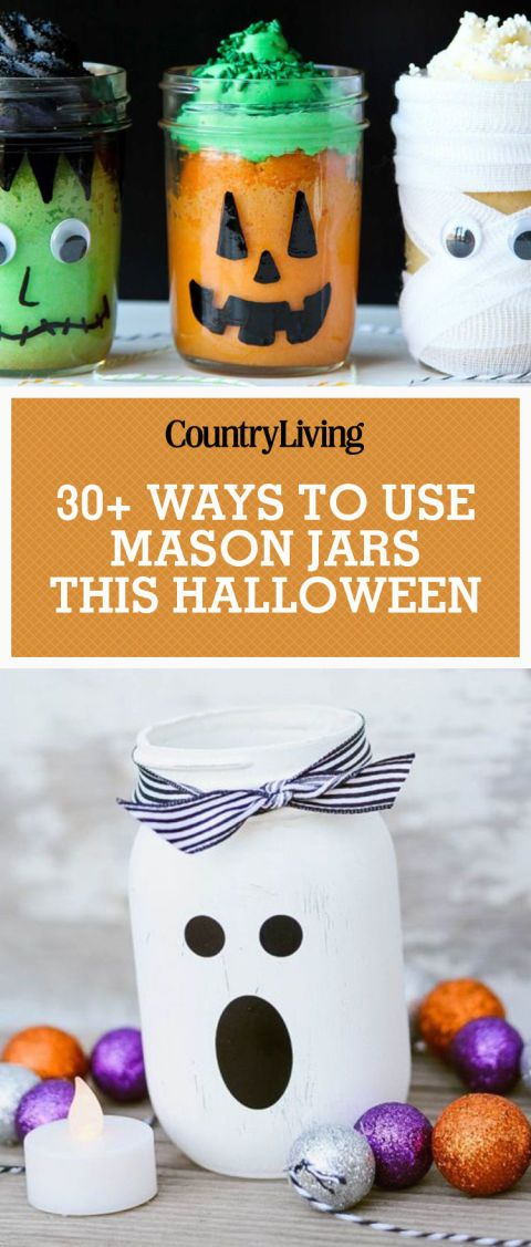 35 wicked ways to use mason jars this halloween