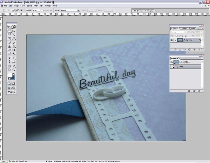 paper fun: Экономим время на обработке фотографий - мастер-класс