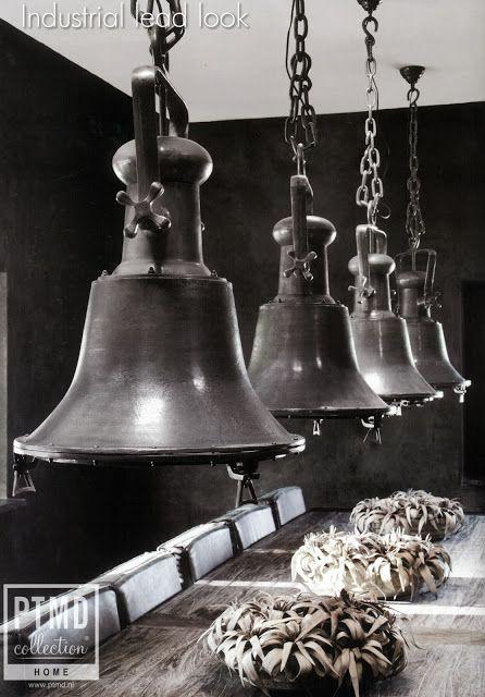 Industriele lampen van PTMD.