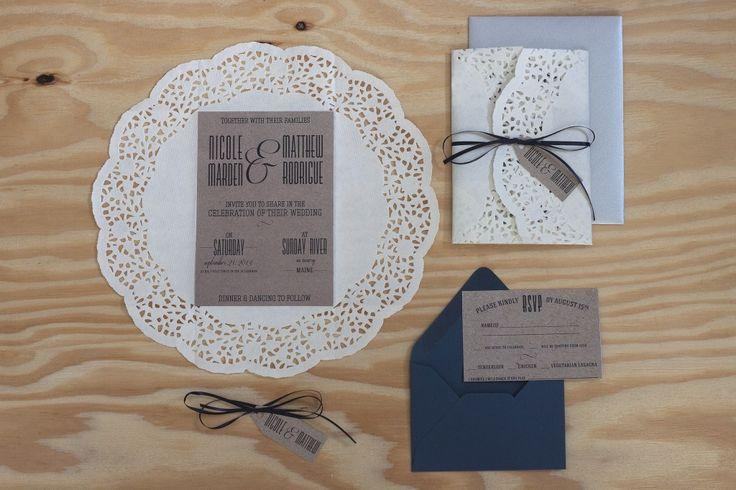 Romantic Wedding Invitation Suite