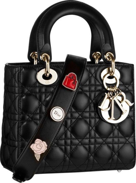 Dior Black Small Lady Dior Bag @*i.prefer.not.giving.my.name*