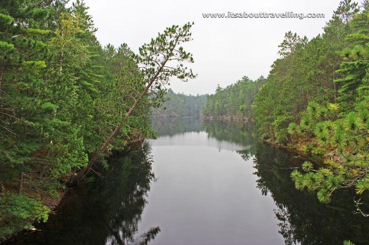 The Gut off the Mattawa River at Samuel de Champlain Provincial Park between North Bay and Mattawa, Ontario.