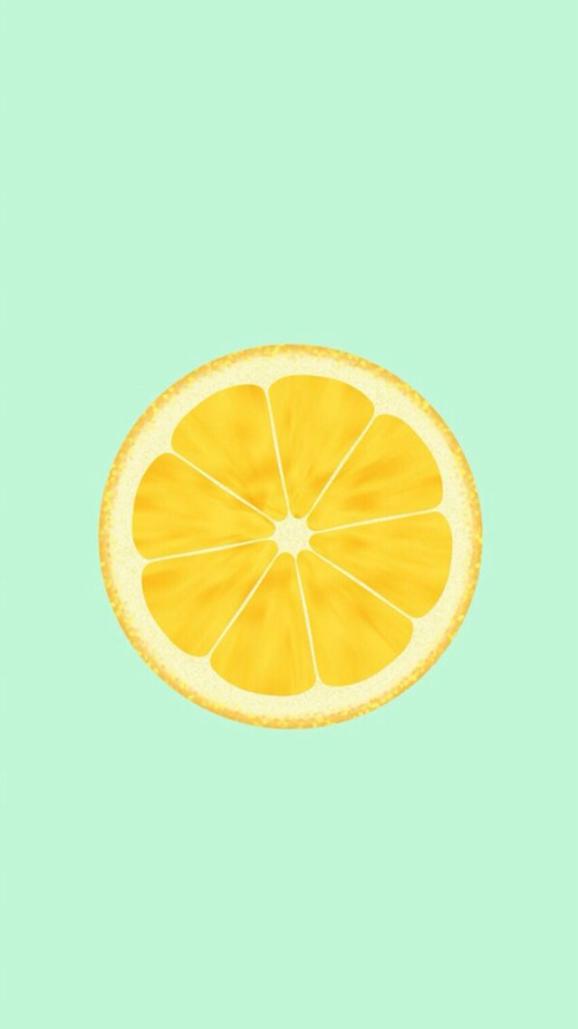 Wallpaper de laranja