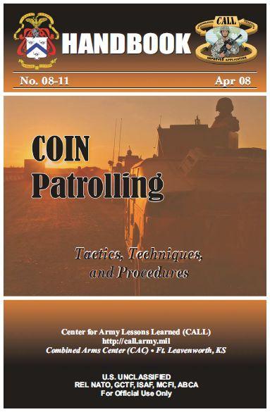 U.S. Army Counterinsurgency Patrolling Handbook