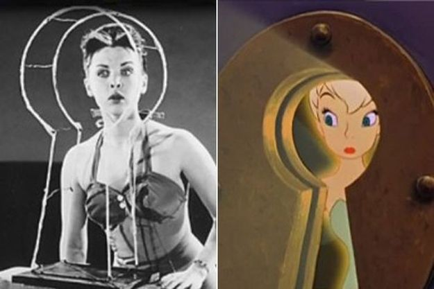 Animatorzy Disneya czerpali swoje pomysły z życia. Jak się okazuje, klasyczne postacie z bajek, miały swoje pierwowzory! Zobaczcie na kim wzorowali się tworząc Śnieżkę, Kapitana Haka, czy Dzwoneczka: Margaret Kerry - Dzwoneczek