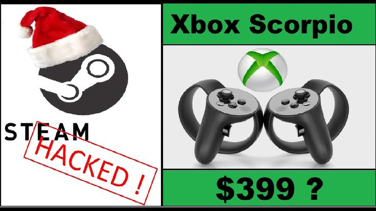 Merry Christmas Steam Is Down! Xbox One Scorpio To Be Priced At $399 N... https://www.youtube.com/attribution_link?a=Xx18Dfye_48&u=%2Fwatch%3Fv%3DAF34Jz2_gwc%26feature%3Dshare