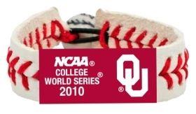 Oklahoma Sooners Bracelet - 2010 College World Series