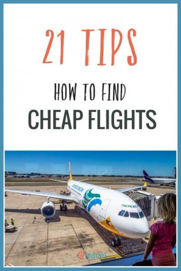 These 21 tips will show you how to find cheap flights to anywhere in the world. Plus discover the best websites for booking flights online!