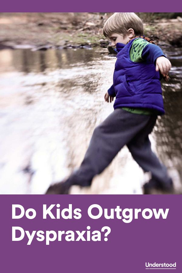 Do children grow out of #dyspraxia?