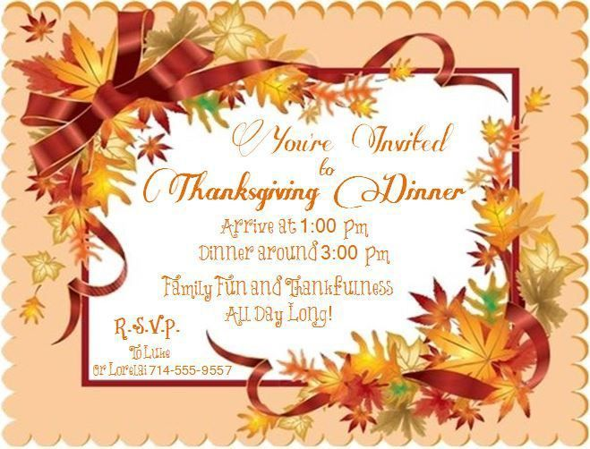44 best Thanksgiving images on Pinterest Thanksgiving invitation