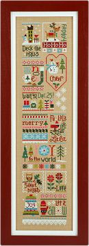 Counted cross stitch patterns, designs, leaflets, kits, embellishments, charms, news from Lizzie Kate