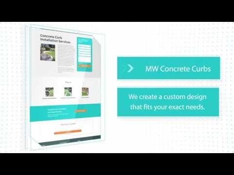 (1) Concrete Curb Installation - YouTube