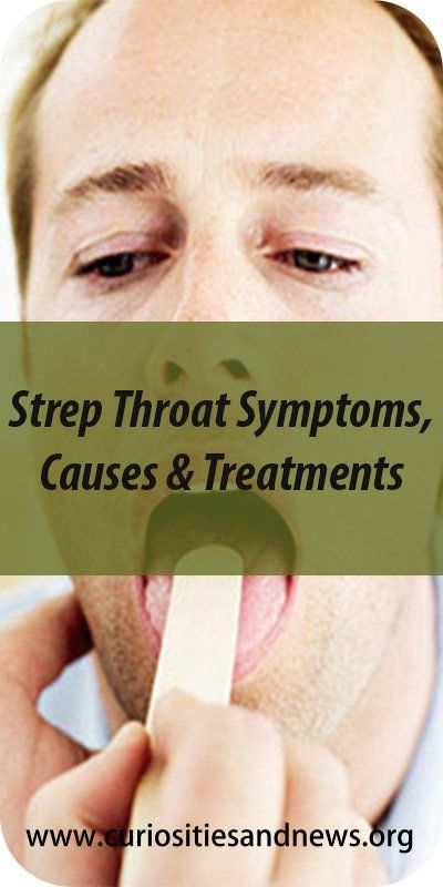Strep throat is an infection in the throat and tonsils caused by group A Streptococcus bacteria, also called group A strep. The following strep throat symptoms typically develop within five days of exposure to the strep bacteria.