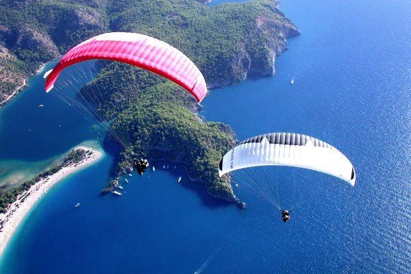 olah raga paralayang paragliding