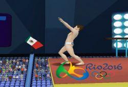 Pronto llegarán los juegos olímpicos de Río 2016 y nosotros queremos homenajear este evento con un apasionado juego de saltos de trampolín en 3D. El juego está inspirado en los juegos olímpicos y el deporte de verano. Salta de un alto trampolín para hacer piruetas en el aire antes de caer al la piscina donde debes entrar en el agua con una posición correcta. Cuando estés en el aire tienes que pulsar las teclas mostradas en el orden de izquierda a derecha para hacer una pirueta perfecta…