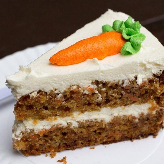 Carrot cake tray bake recipe uk