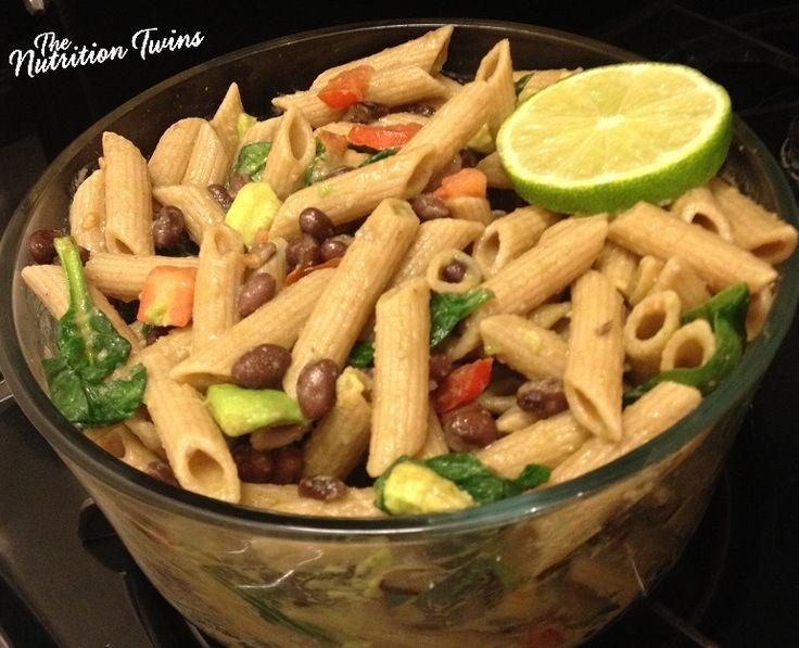 Black Bean & Avocado Pasta with Lime | Rich, Creamy, Decadent ...