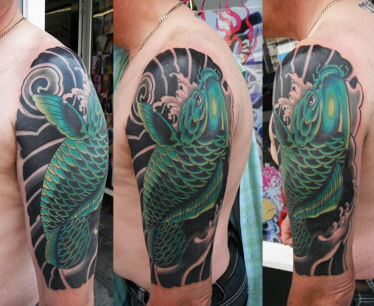 Tattoo cover up ideas japanese koi fish cover up tattoo for Japanese koi company