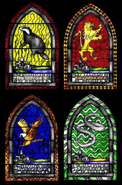 Potter frenchy party - Travaux pratiques : vitraux décoratifs inspirés par l'univers de Harry Potter - diy hogwarts stained glass - decoration tutorial