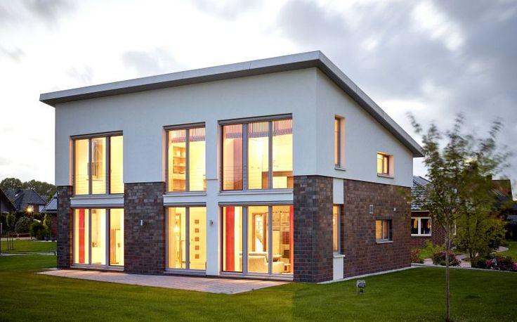 Unser Musterhaus als Passivhaus - Pultdachhaus 158p mit 158,44 qm Wohnfläche bauen in Hamburg