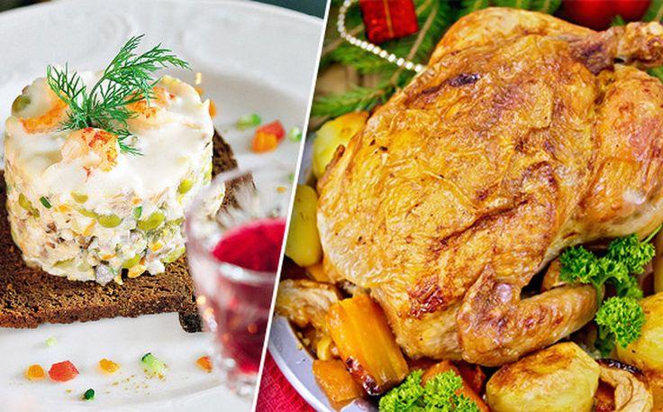 10 блюд, которые должны быть нановогоднем столе. А иначе это непраздник!