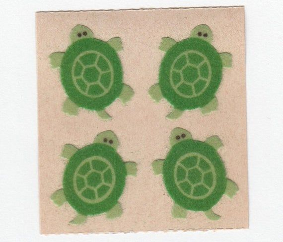 FROG Sandylion Stickers Vintage Fuzzy FROGS TOAD 1 mod