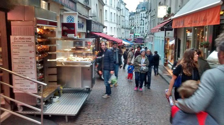 Petits commerces Rue Mouffetard - Rue Mouffetard — Wikipédia
