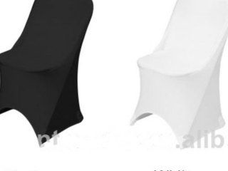 Lycra Chair Covers - White or Black $3.00  Black or White  Made to fit our folding chairs  We will wash them!  Free delivery with any Marquee Hire