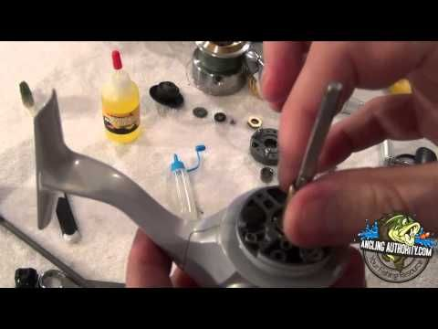 Shimano Spinning Reel Maintenance Tutorial http://www.sportsoutdoor.org/fishing/how-to-master-reassembling-and-cleaning-fishing-reels-video/