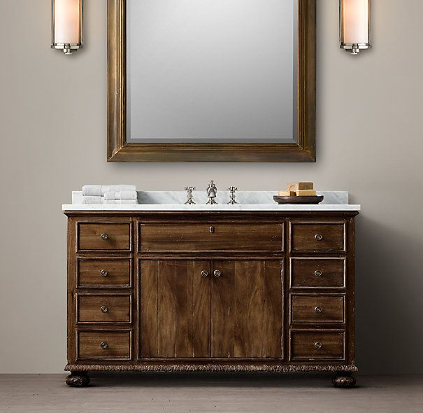 Picture Gallery For Website French Empire Extra Wide Single Vanity Sink
