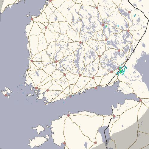 Aika uskomatonta, ainut satava paikka koko Etelä Suomessa on juuri Immola, kun sinne mennään...