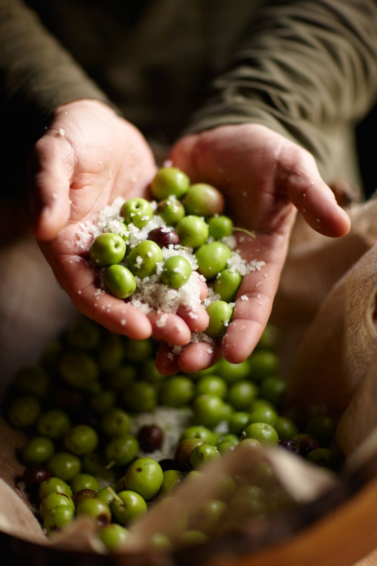 I wanted to touch everything in the markets, especially fat green olives like these.