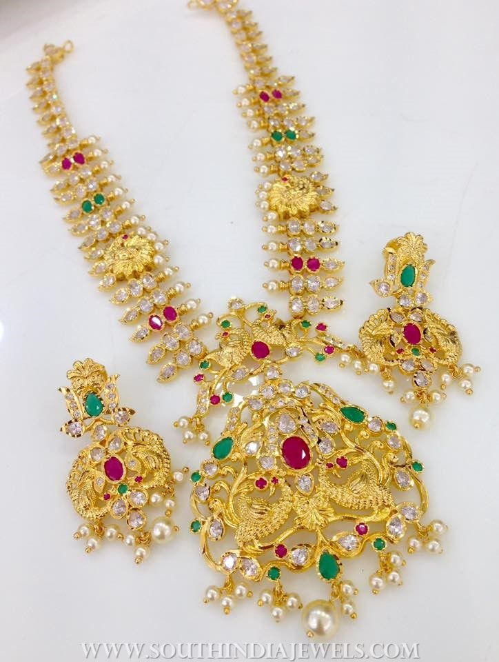 38af632fe Swarnakshi Jewels & Accessories 1 Gram Gold Jewellery, Gold Jewelry, South  India, Exclusive