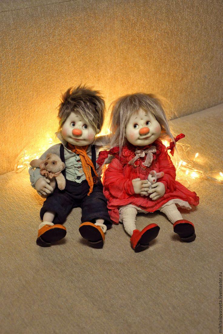 Купить Кай и Герда   ( цена за 1 куклу) - Кай и Герда, комбинированный, подарок