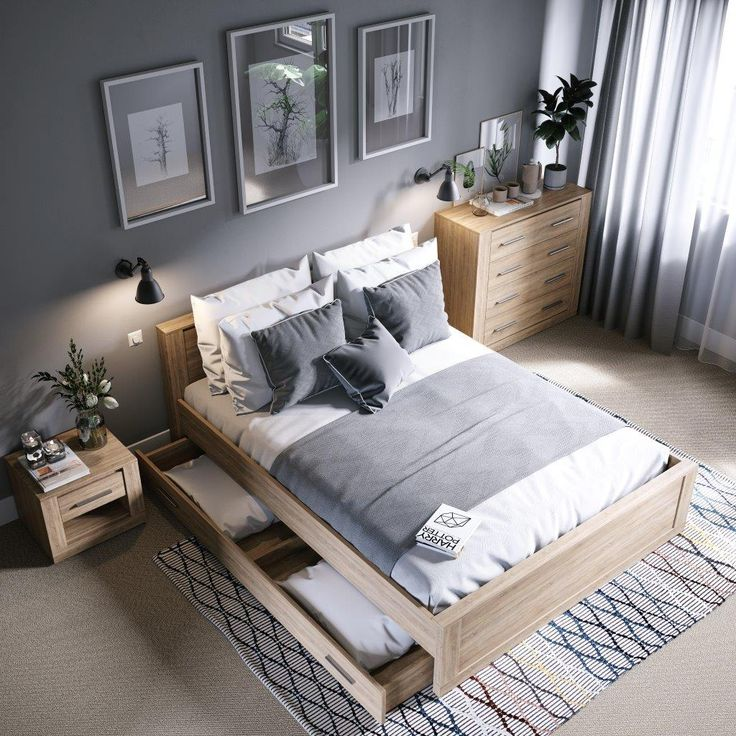 Look at the IDEA bedroom in the new version. The wood-like decor perfectly matches all shades of gray. We recommend this economic …