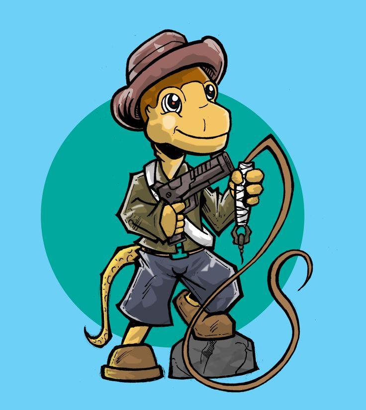 Cartoon Dinosaurus