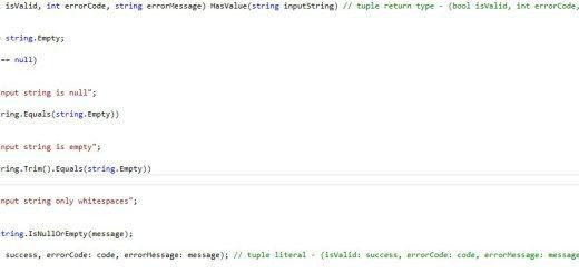 C# 7 Pattern Matching with Switch Statements