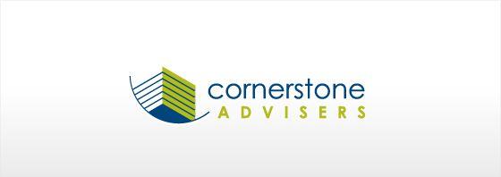 Cornerstone Advisors Logo Design by Oley Media Group - http://www.oleymediagroup.com.au/design/ #LogoDesign