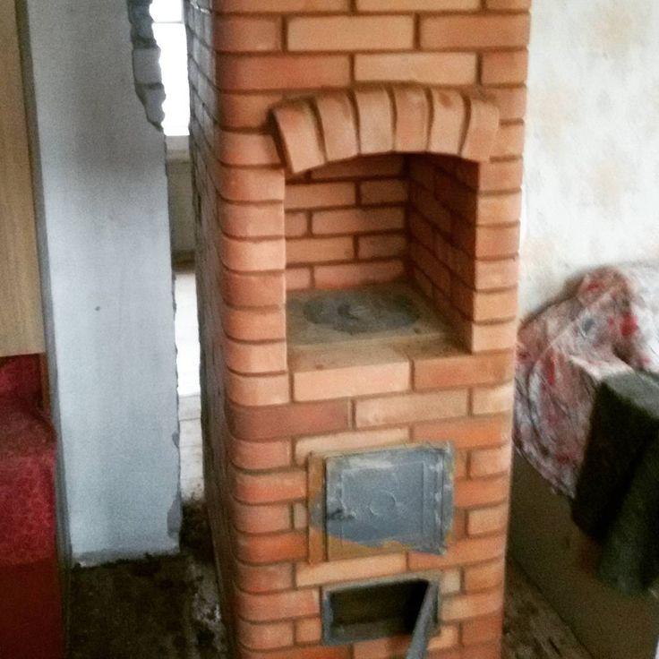 Малютка колпаковая для отопления гаража или летнего домика#печь