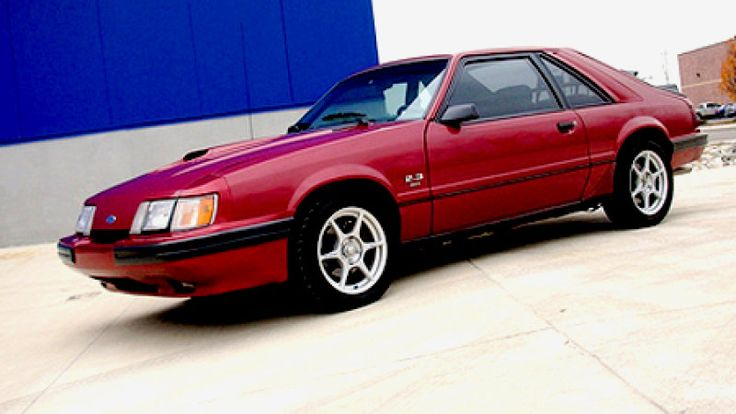 RR of the Day - 1986 Mustang SVO